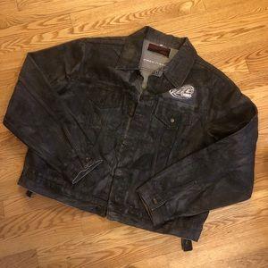 Men's Miller Lite, Harley-Davidson jacket NWOT